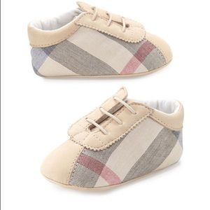 Burberry Bosco Check infant shoes